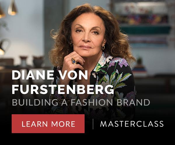 Diane Von Furstenburg Teaches Building a Fashion Brand