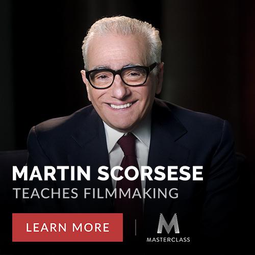 Invest in Martin Scorsese's Masterclass Course