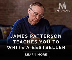 James Patterson Teaches You To Writer A Bestseller. Learn More.