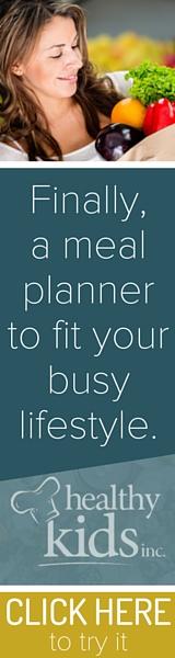 Free Week of Healthy Kids Inc Meal Planner