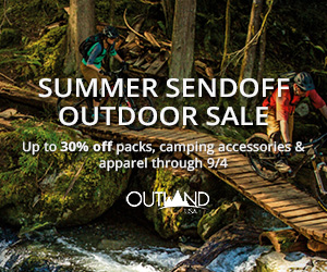 Up to 30% OFF outdoor gear through Labor Day!