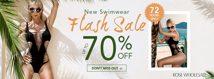 New Swimwear Flash Sale: Up to 70% OFF, Just 72 Hours, Don't Miss it and Shop Now!