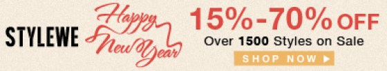 Happy new year 392*72