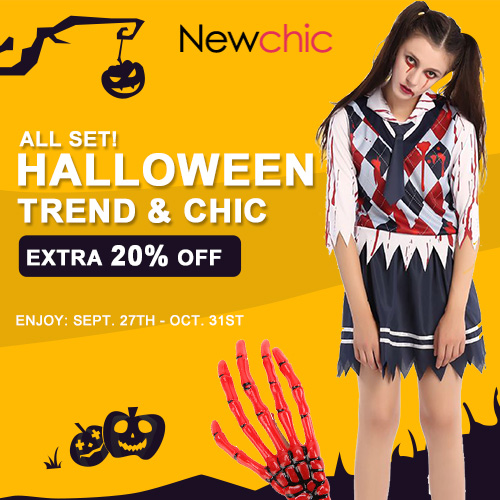 Coupon: nchalloween, Expire Date: Sept.27th-Oct.31st