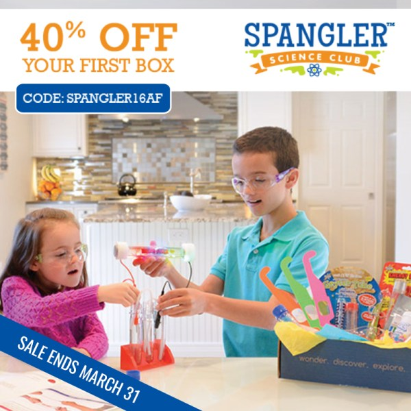 Save 40% Off Your First Box at Steve Spangler Science