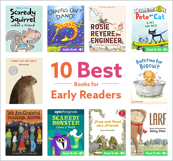 10 Books for Early Readers