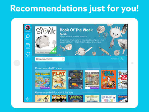 Recommendations just for you!