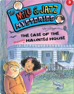 Milo and Jazz Case of the Haunted House