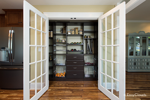Create Your Own French Roast Pantry with EasyClosets