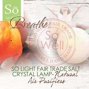 So Well Fair Trade Salt Lamps