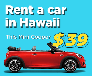 Rent a car in Hawaii at low prices