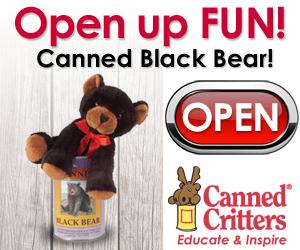 Canned Black Bear