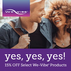 Summer Sale - 15% off select We-Vibe Products!