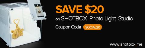 SHOTBOX Photography Light Studio Banner