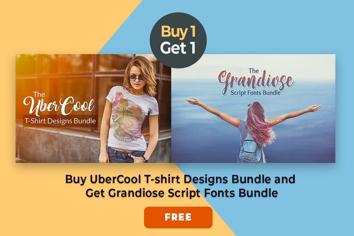 UberCool T-Shirt Designs Bundle Offer