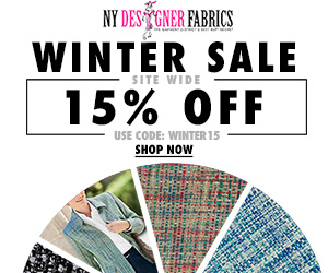 Winter Sale starts NOW. Use Code: WINTER15 at Checkout and Get 15% Off Site Wide