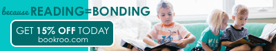 Because reading = bonding. Get 15% off today at bookroo.com