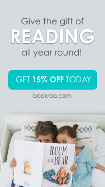 Give the gift of reading all year round! Get 15% off today at bookroo.com