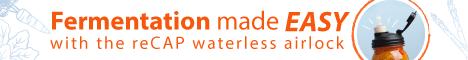 Fermentation with reCAP Mason Jars Fermenter
