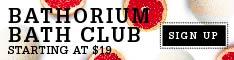 Bathorium Subscription Bath Club