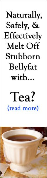 Melt Stubborn Belly Fat with Okuma Tea!