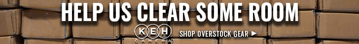 Save up to 40% off retail at KEH Camera!