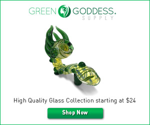 Green Goddess Supply Glass Collection