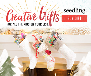 Seedling holiday banners - stocking stuffers