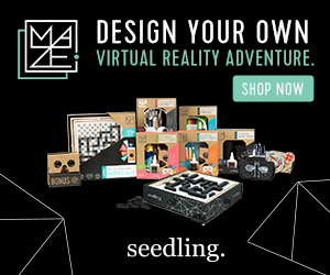 Seedling - Design your own virtual reality Maze