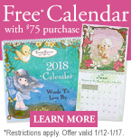 Free gift with purchase at Precious Moments