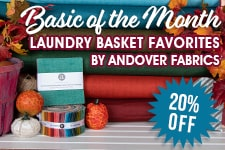 Fat Quarter Shop Basic of the Month Sale
