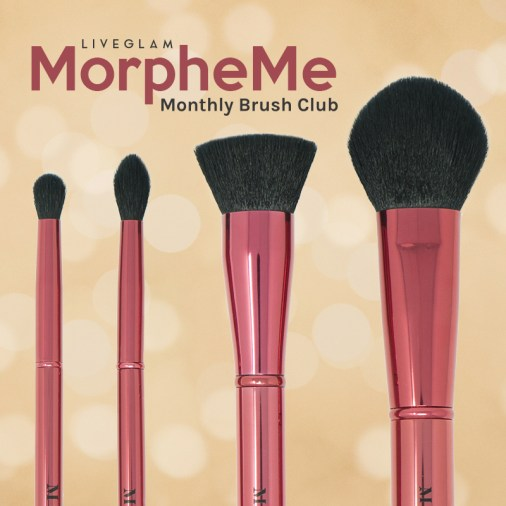 LiveGlam MorpheMe Monthly Brush Club