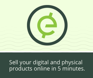 Sell your digital and physical products in 5 minutes