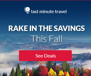 Savings to Fall in Love With. Use promo code FALL2018 and get $40 off hotel bookings (min purchase of $450, End 12/1/2018