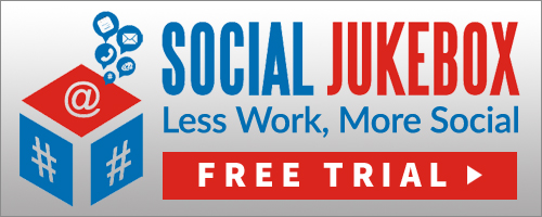 Easily schedule regular Twitter posts with Social Jukebox. Less Work More Social