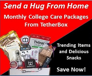 Monthly College Care Packages Only At Tetherbox.com Save Now!