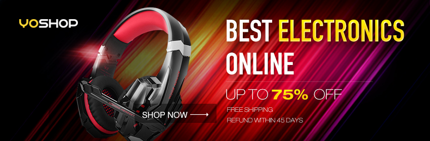 Shop yoshop for all the latest electronics! Enjoy free shipping and up to 75% OFF! Update your electronics collection now!