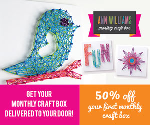 Subscription boxes for creative kids and adults the for Ann williams monthly craft box