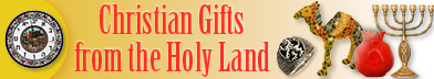 Christian Gifts from the Holy Land
