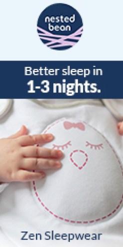 Better sleep in 1-3 nights