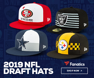 2019 NFL Draft Hats from New Era