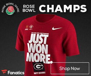 Georgia Bulldogs Rose Bowl Champs