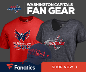 Shop for Washington Capitals Gear at Fanatics.com
