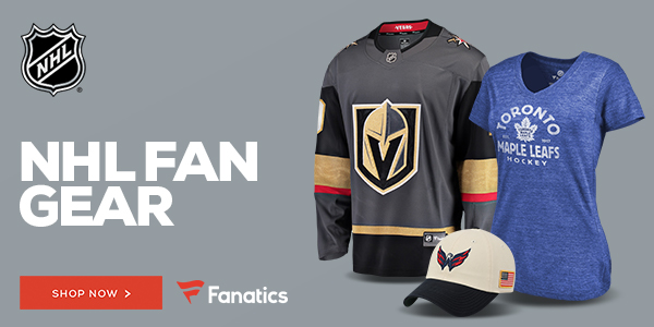 Shop for NHL Gear at Fanatics!