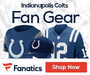 Shop the newest Indianapolis Colts fan gear at Fanatics!