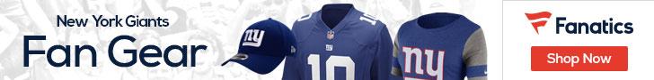 Shop the newest New York Giants fan gear at Fanatics!