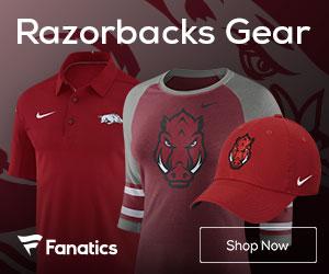 Arkansas Razorbacks gear at Fanatics.com