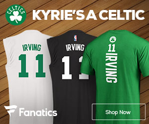 Kyrie Irving Boston Celtics Gear