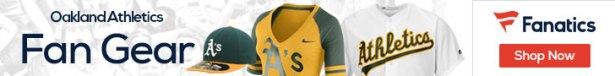 Oakland Athletics gear at Fanatics.com