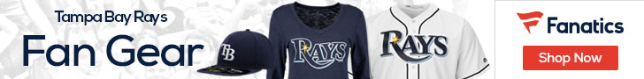 Tampa Bay Rays gear at Fanatics.com